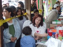 Voluntering at Sizdeh Bedar Celebration