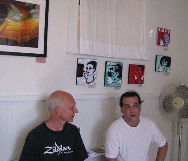 Carpenter (& Comedian) David Deming & Photographer Ian Grey