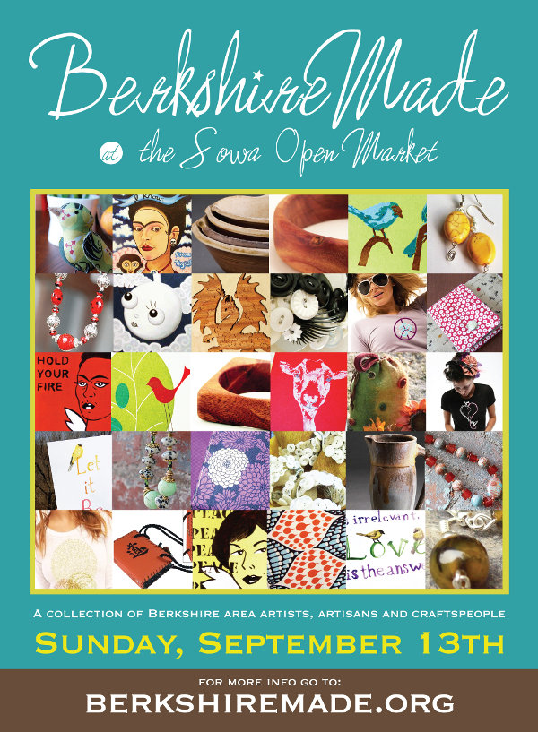 Bethann Shannon & her Berkshire Made artist buddies will be at SoWA on Sept.13