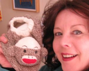 Sock Monkeys & cartoonist Bethann Shannon