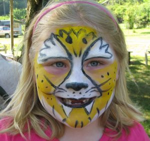 Find wonderful face painting on the web